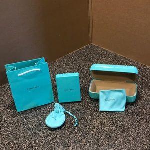 Tiffany & Co. bag, box, pouch, glasses case, cloth